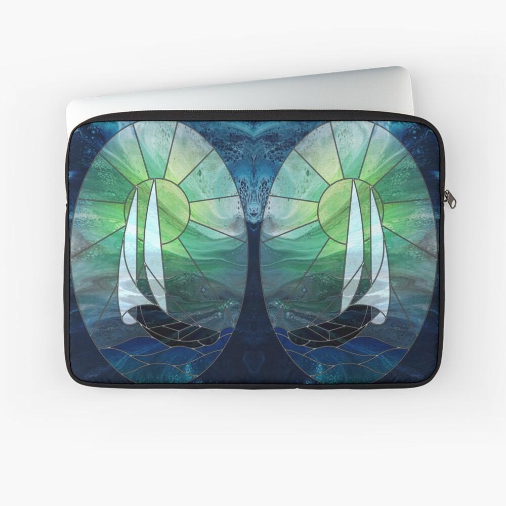 Glass Sails Laptop Sleeve