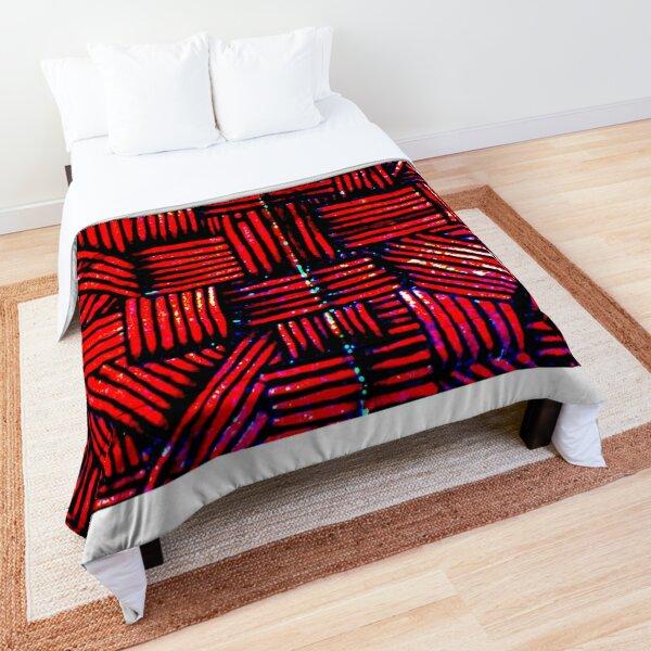 Encaustic Art Image Untitled 070604 Comforter