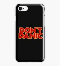 Dont Panic - The Hitchhiker's Guide to the Galaxy iPhone Case/Skin