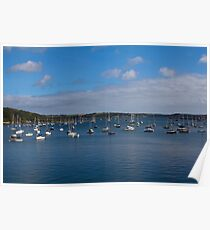 Falmouth Harbour Poster