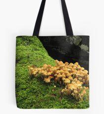 Fungi and moss Tote Bag