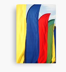 Rally Flags Canvas Print