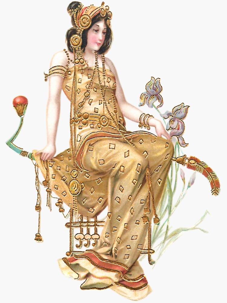 Vintage Gold Princess by Grafixmom