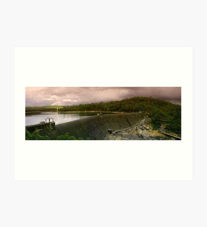 Collie Dam - Western Australia  Art Print