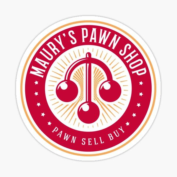 Maury's Pawn Shop Sticker