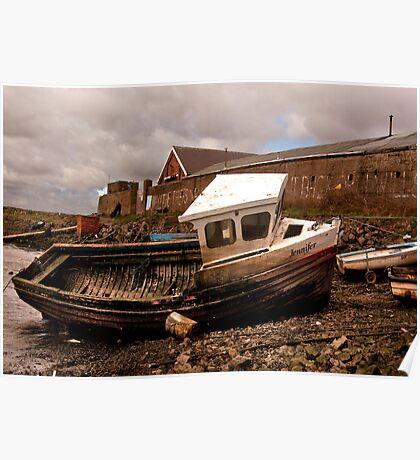 The Boat Jennifer - Paddy's Hole Poster