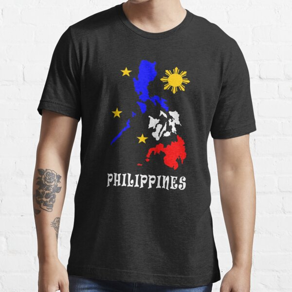 Philippine Map Philippines 3 stars and the sun T-Shirt Essential T-Shirt
