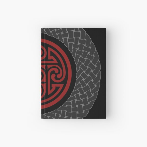 Celtic Knotwork Circles - Vampires are Cursed Hardcover Journal