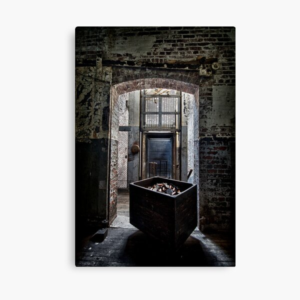 Waiting for the Elevator  Canvas Print