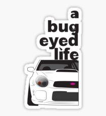 Subaru Bug Eyed life Glossy Sticker