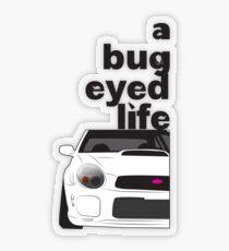 Subaru Bug Eyed life Transparent Sticker
