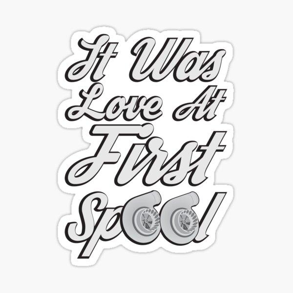 Love at first Spool Sticker