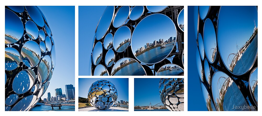 Brisbane Festival, Golden Casket Light Sphere  by Jaxybelle