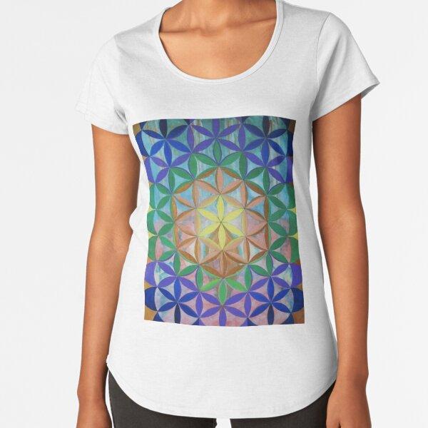 Flower of Life Premium Scoop T-Shirt