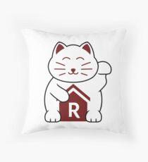 Cat shirt for Cat Shirt Fridays Throw Pillow