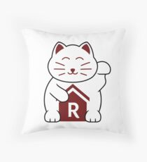 Cat shirt for Cat Shirt Fridays Throw Pillow