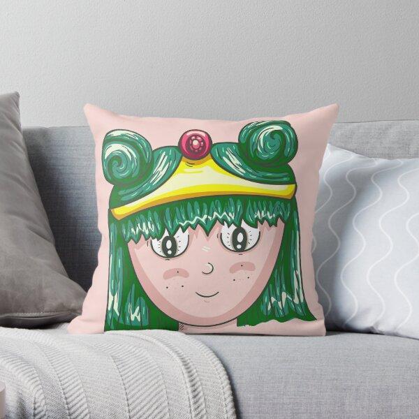 very normal princess Throw Pillow