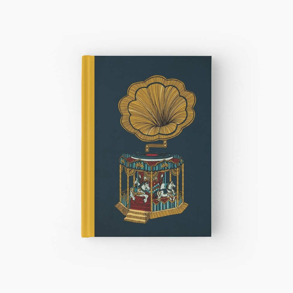 Carousel Player Hardcover Journal