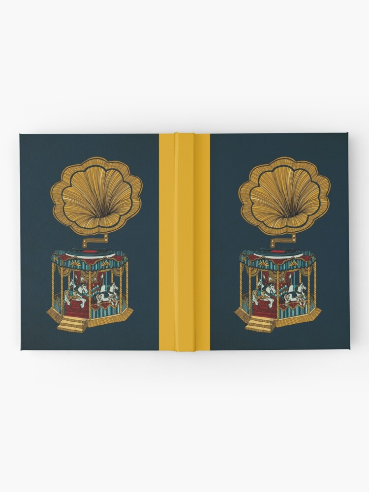 Alternate view of Carousel Player Hardcover Journal