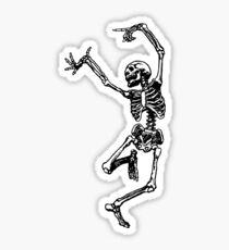 Pegatina Esqueleto de baile