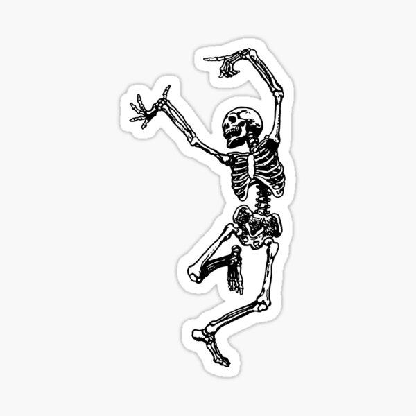 Dancing skeleton  Sticker