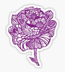 rose'purp Sticker