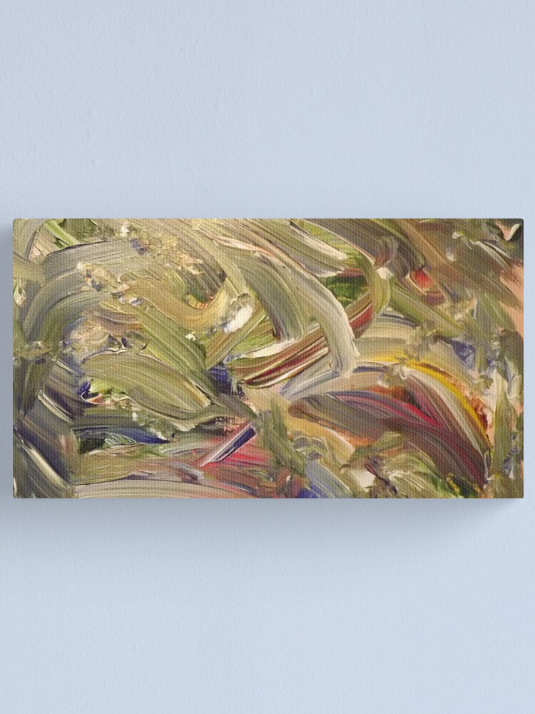 """Alternate view of """"Emerald's Domain"""" - Acrylic on Canvas Canvas Print"""