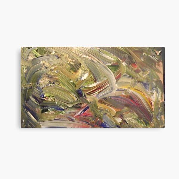 """Emerald's Domain"" - Acrylic on Canvas Metal Print"