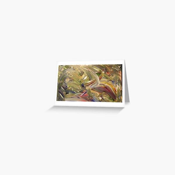 """Emerald's Domain"" - Acrylic on Canvas Greeting Card"