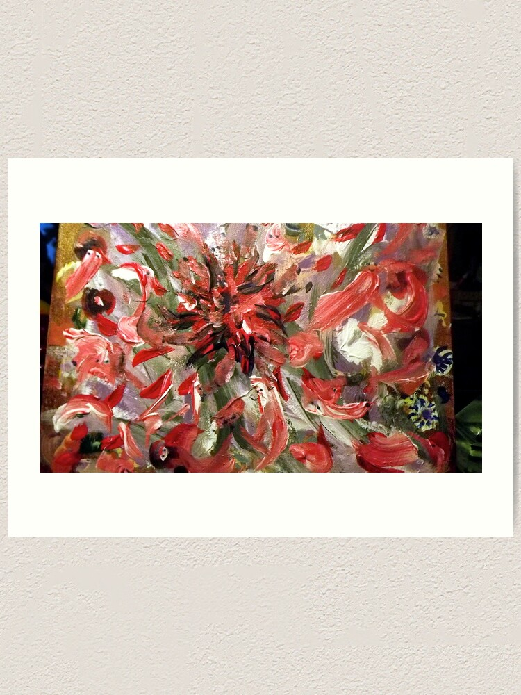 "Alternate view of ""Christmas to Easter"" - Complete Painting Art Print"