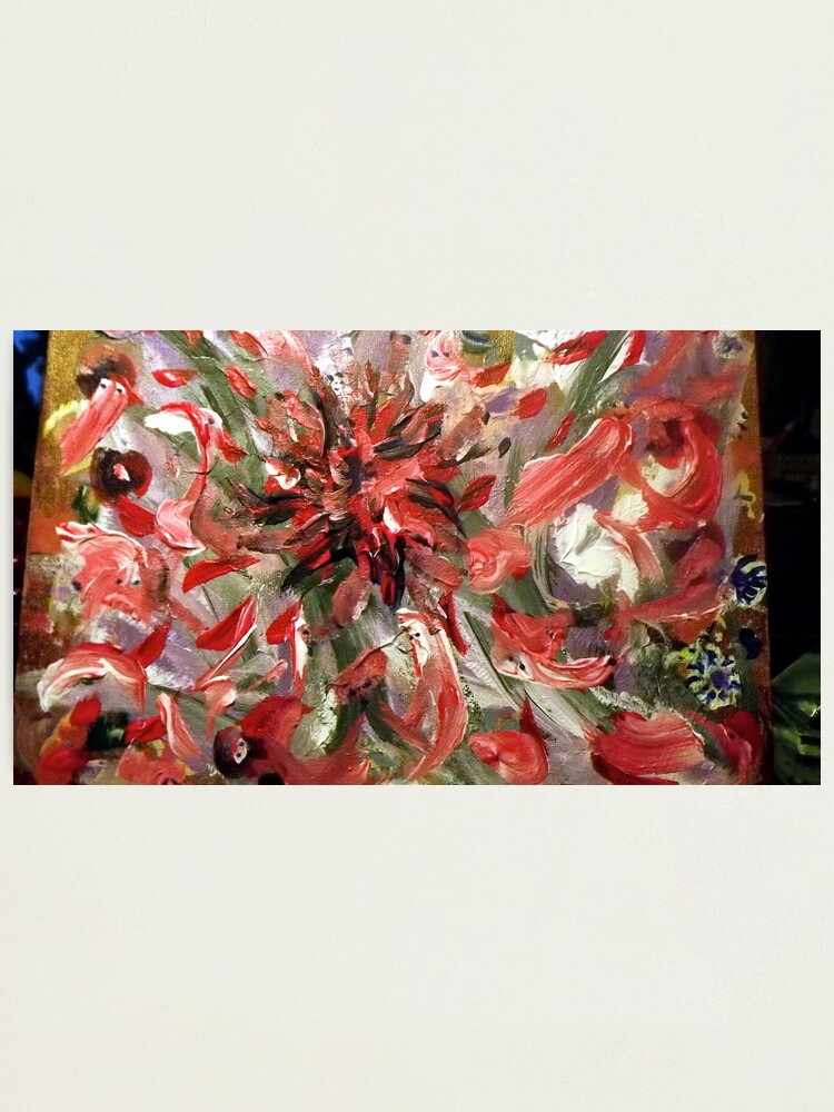"""Alternate view of """"Christmas to Easter"""" - Complete Painting Photographic Print"""