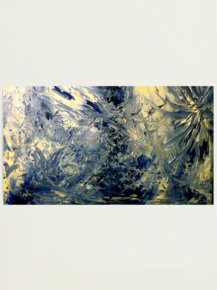 """Alternate view of """"Celestials"""" - Whole Painting Photographic Print"""