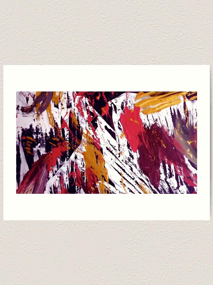 "Alternate view of ""Tibet"" - Whole Painting Art Print"