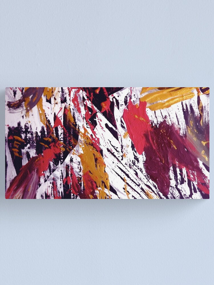 "Alternate view of ""Tibet"" - Whole Painting Canvas Print"