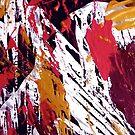 """Tibet"" - Whole Painting by Sheila Van Houten"