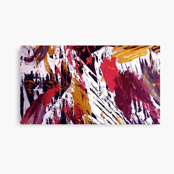 """""""Tibet"""" - Whole Painting Canvas Print"""