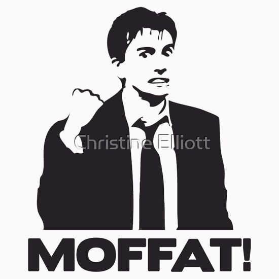 TShirtGifter presents: MOFFAT! David Tennant Fist Shake