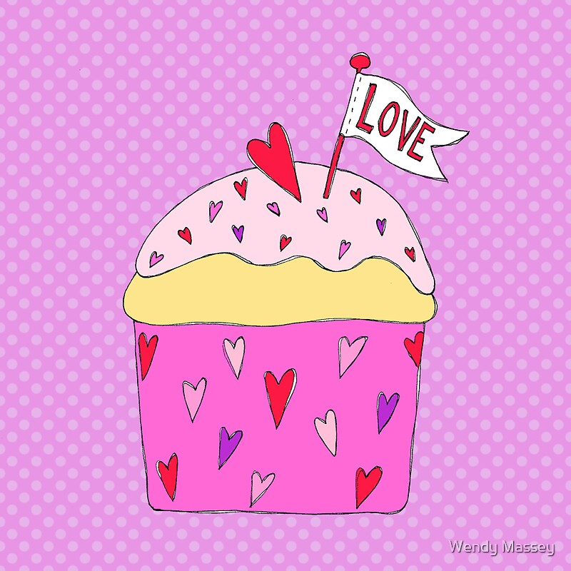 Cupcake love by wendy massey