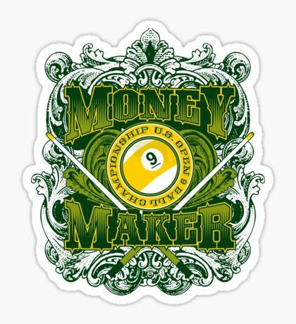 Money Maker Sticker