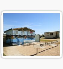 Port Clinton Caravan Park and Foreshore Sticker