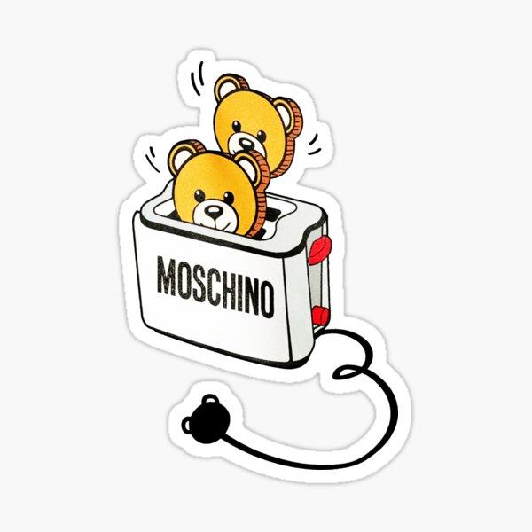 Tostadora Moschino Bear Pegatina