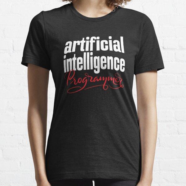 Artificial Intelligence Programmer AI Essential T-Shirt