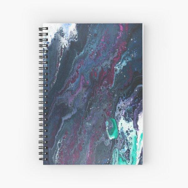 Skipping Between Raindrops Spiral Notebook