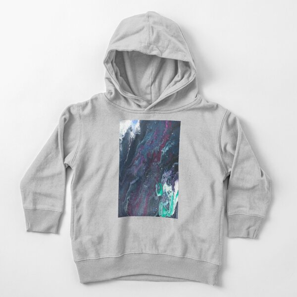 Skipping Between Raindrops Toddler Pullover Hoodie