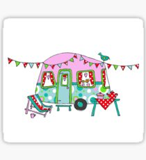 Cute Caravan/Trailer Sticker