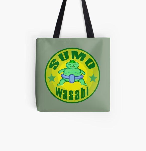 SUMO Wasabi All Over Print Tote Bag