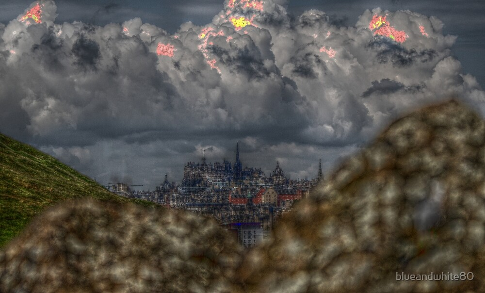 Edinburgh HDR by blueandwhite80