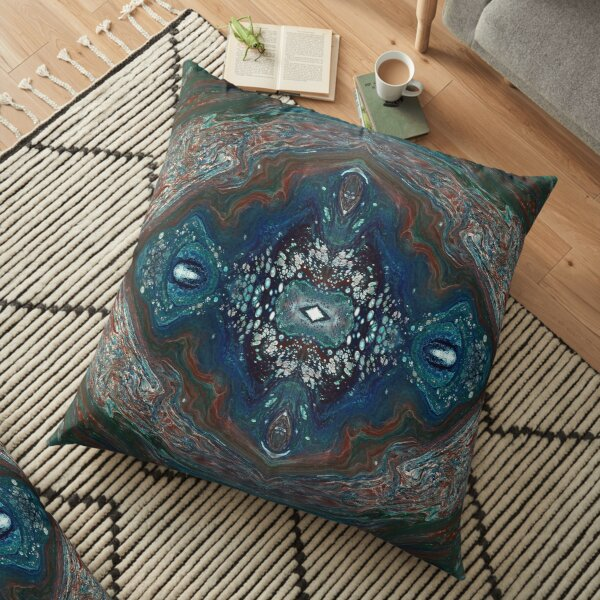 Stream of Consciousness Floor Pillow