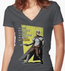 New York Comic Con 2011 Women's Fitted V-Neck T-Shirt