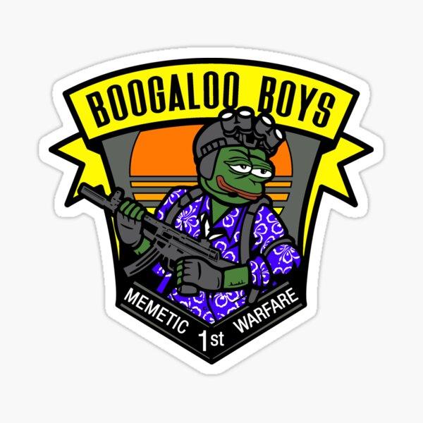 Boogaloo boys meme team 6 Sticker